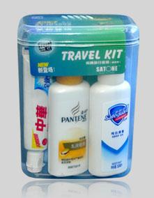 ID-350P潘婷方盒洗漱套装-有毛巾
