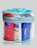 ST122-舒蕾椭圆透明袋装洗漱套装(舒蕾)
